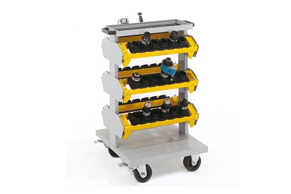 Kompaktný cnc nástrojový vozík