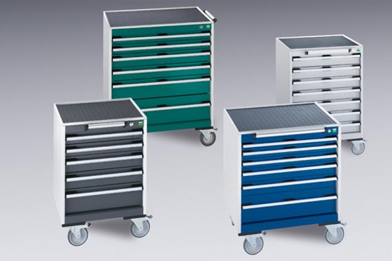 Dielenské vozíky na náradie