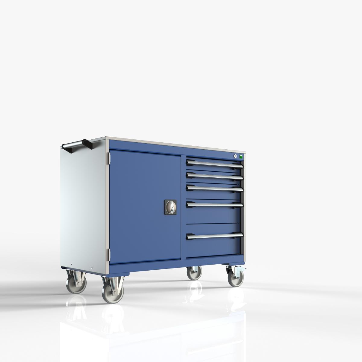 Dielenské pracovné vozíky