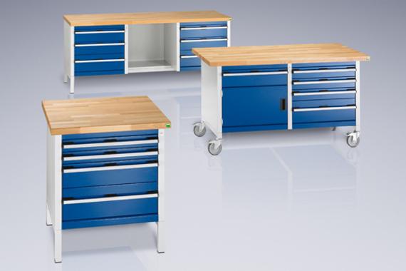 Dielenské pracovné stoly