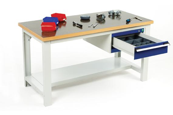 Dielenský pracovný stôl s rámom