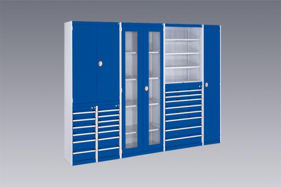 Modulárny dielenský nábytok