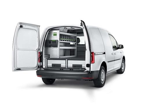 Zariadenie do a prestavby Volkswagen Caddy